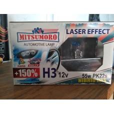 Лампа MITSUMORO H3+150% 55W/ компл.