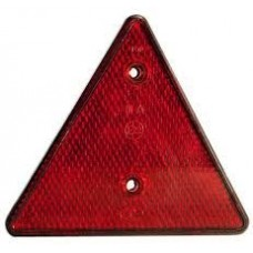 Знак светоотражатель треугольник красный